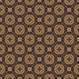 Brown Colors Art Deco Style lattice Pattern design. Original Pat Royalty Free Stock Photography