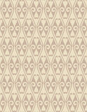 Brown Colors Art Nouveau Style Pattern design. Original Pattern Royalty Free Stock Image
