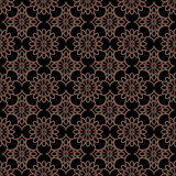 Brown Colors Flower Pattern design. Original Pattern and Symbol Stock Photo