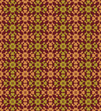 Brown Colors Flower Pattern design. Original Pattern and Symbol Stock Photos