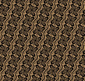 Brown Colors Geometry Pattern. Korean traditional Pattern Design Royalty Free Stock Photography