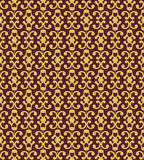 Brown Colors Plant Pattern design. Original Pattern and Symbol S Royalty Free Stock Photography