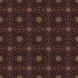 Brown Colors Round grid Pattern. Royalty Free Stock Photography