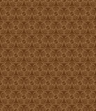 Brown Colors Round grid Pattern. Korean traditional Pattern Desi Royalty Free Stock Photo