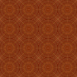 Brown Colors Round grid Pattern. Korean traditional Pattern Desi Stock Photography