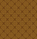 Brown Colors Square grid Pattern design. Korean traditional Patt Stock Photos