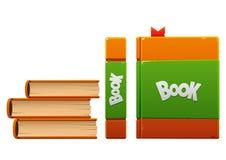 Brown com tipos do Livro Verde três Imagem de Stock