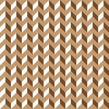 Brown contour abstract 3d geometrical cubes seamless pattern background for wallpaper, pattern, web, blog, surface, textures Royalty Free Stock Photos