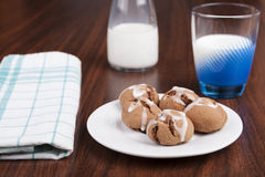 Brown Cookies Stock Images