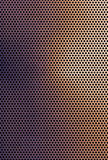 Brown copper colored metal grid background Royalty Free Stock Photo