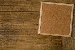 Brown Cork board stock images