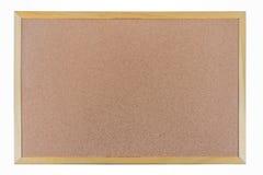 Brown cork board frame Stock Photo