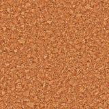 Brown cork board seamless texture background Stock Photos