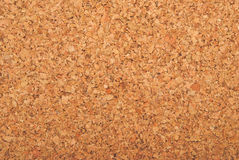 Brown cork texture Stock Images