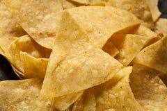 Brown Corn Tortilla Chips Royalty Free Stock Photos