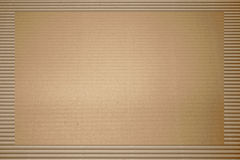 Brown corrugated cardboard Royalty Free Stock Images