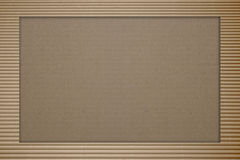 Brown corrugated cardboard Stock Images