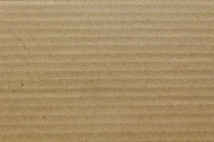 Brown corrugated cardboard as background Royalty Free Stock Image