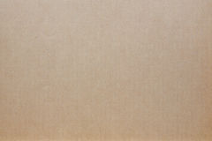 Brown corrugated cardboard as background Stock Photo