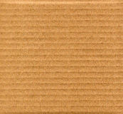 Brown corrugated cardboard background Stock Photography