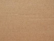 Brown corrugated cardboard background Royalty Free Stock Images