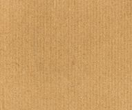 Brown corrugated cardboard background Stock Photos