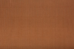 Brown corrugated cardboard carton, texture background, colorful Stock Images
