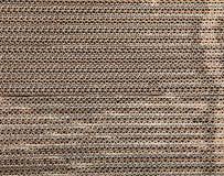 Brown corrugated cardboard Royalty Free Stock Photo