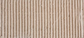 Brown corrugated cardboard sheet background Stock Photos