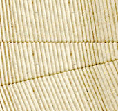 Brown corrugated cardboard sheet background Royalty Free Stock Photography