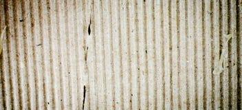 Brown corrugated cardboard sheet background Stock Images