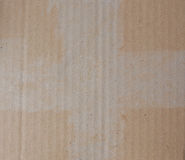 Brown corrugated cardboard Royalty Free Stock Photography