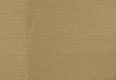 Brown corrugated cardboard surface background Stock Image