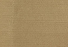 Brown corrugated cardboard surface background Stock Photo