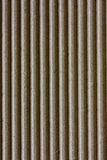 Brown corrugated cardboard Royalty Free Stock Photos