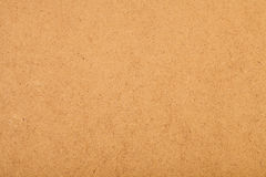 Brown corrugated cardboard useful Royalty Free Stock Photography