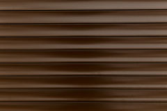 Brown Corrugated metal texture surface or galvanize steel background Royalty Free Stock Photography