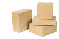 Free Brown Corrugated Paper Box Royalty Free Stock Photos - 69256488