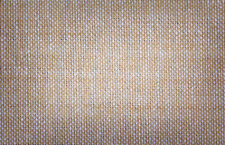 Brown cotton fabric texture Royalty Free Stock Image