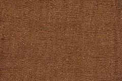 Brown cotton Fabric texture background Stock Photo