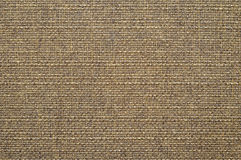 Brown cotton fabric texture Stock Photography