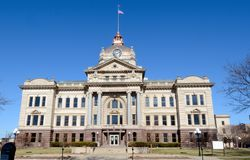 Brown County Courthouse Royalty Free Stock Images