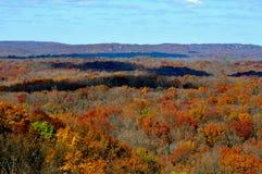 Brown County delstatspark Arkivfoton