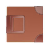 Brown cover album Royalty Free Stock Photo