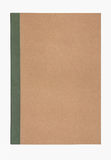 Brown cover notebook recycle paper stock photos