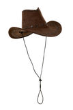 Brown cowboy hat Royalty Free Stock Photography