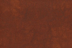 Brown cowhide - Leather Stock Photography