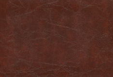 Brown cowhide - Leather Stock Photo