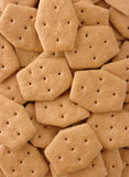 Brown crackers background Royalty Free Stock Photos