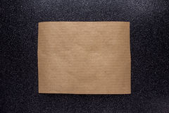 Brown craft paper for letter Royalty Free Stock Image